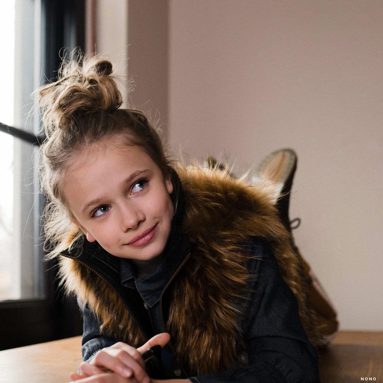 Kinderen Meisjes klein