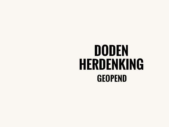 Dodenherdenking